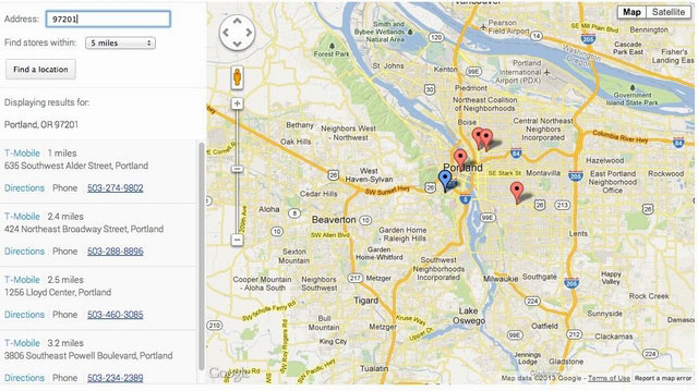 Google Launches Nexus 4 Store Locator | Ubergizmo on google map navigation, google map online, google voice, google map button, google map tracking, google map scale, google map legend, google translate, google site map, web mapping, google docs, google chrome, google map messages, google map filter, google map vehicle, google moon, google search, bing maps, yahoo! maps, google map gps, google earth, google map listing, satellite map images with missing or unclear data, google street view, google map drop, google goggles, google map logo, google map key, google map history, google mars, google map maker, google latitude, google map city, google company locations map, google sky, route planning software,