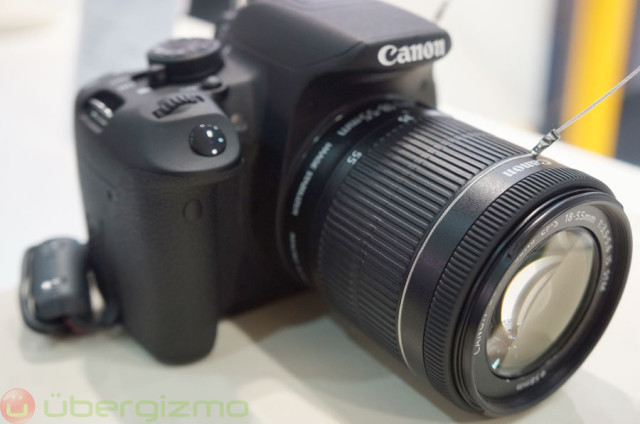 Canon EOS Rebel T5i Hands-On Review (EOS 700D) | Ubergizmo