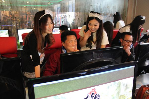 women-video-games-china