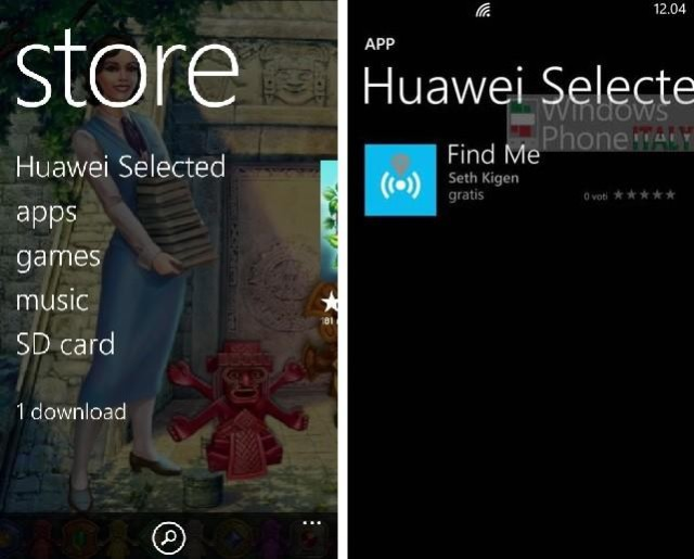 Huawei Gets A Windows Phone Store Of Their Own | Ubergizmo
