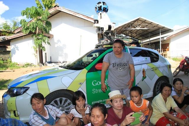 google-car-thai