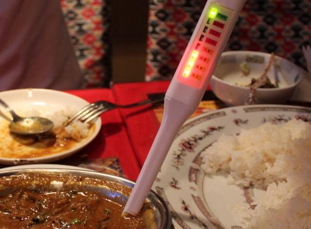led-salt-meter