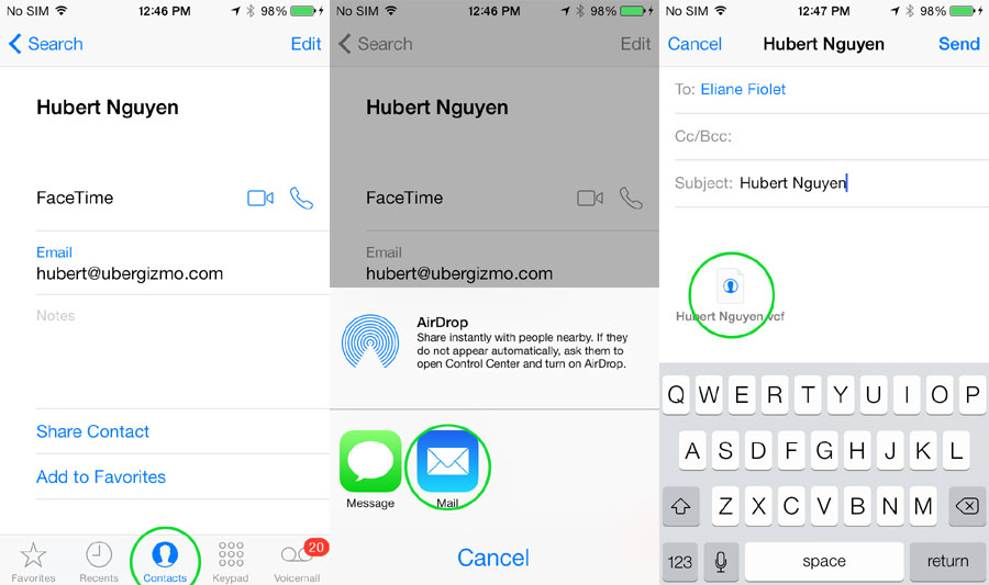 How To Transfer Contacts From iPhone To Android (5 Ways) | Ubergizmo