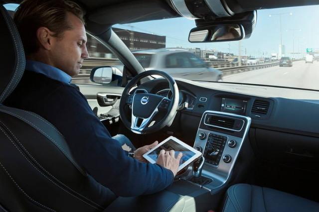 volvo self-driving