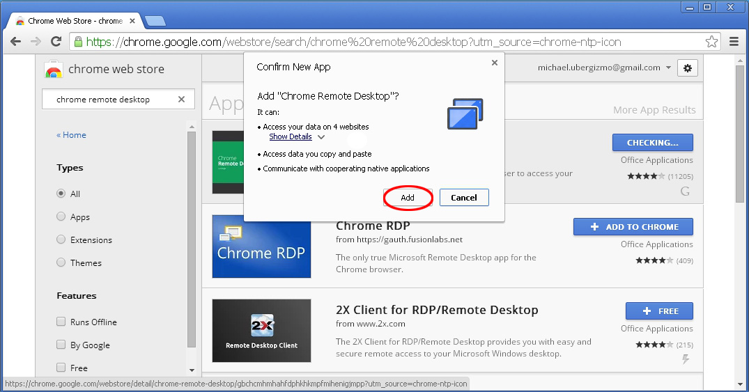 Use Chrome Remote Desktop To Access Your Computer | Ubergizmo