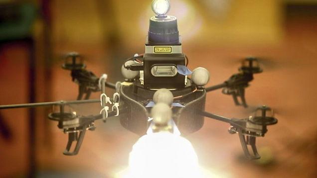 drone flash