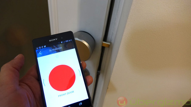August Smartlock Review | Ubergizmo