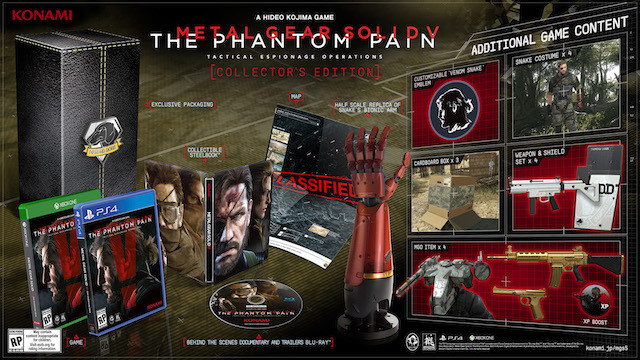 Metal Gear Solid 5 Collector's Edition Pre-Order Available Now