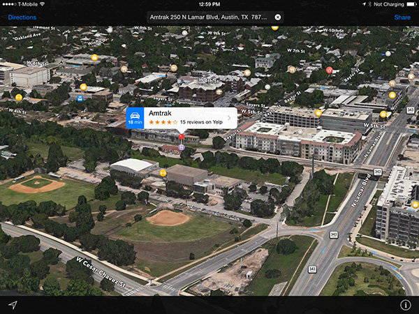 apple maps public transit