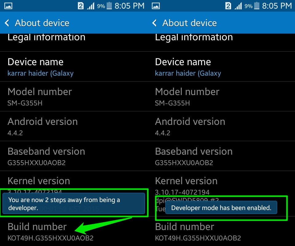 How To Enable Android's Developer Options | Ubergizmo