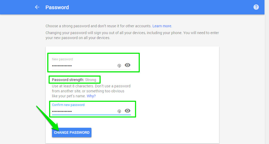 How To Change Your Gmail Password | Ubergizmo