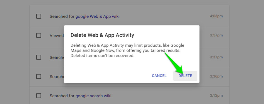 How To Delete Your Google History Permanently Ubergizmo