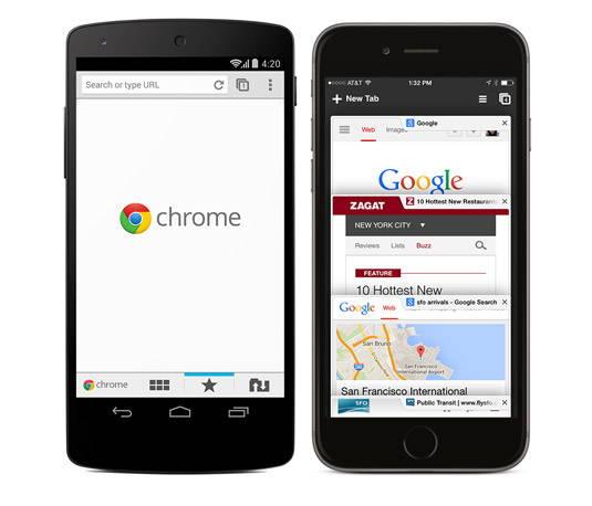 chrome mobile