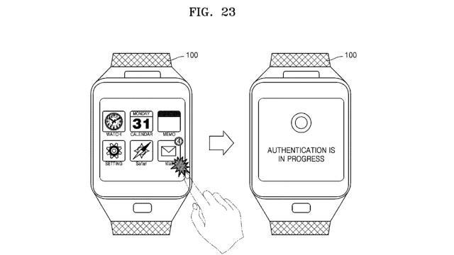 samsung vein patent