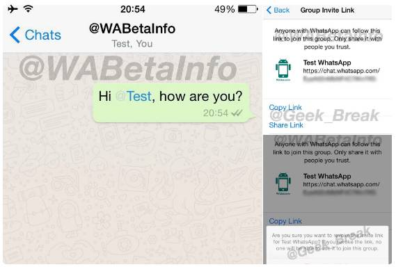 WhatsApp Mentions And Group Invites Could Be Coming Soon | Ubergizmo