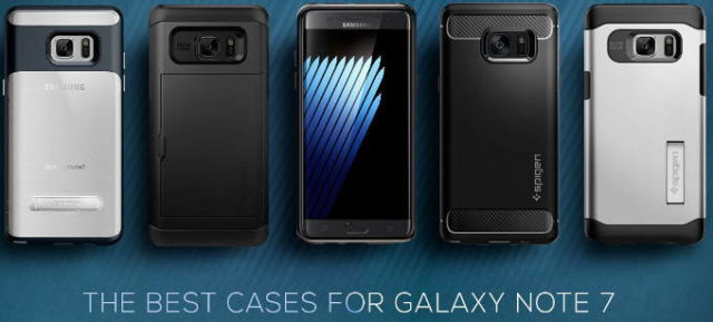 new product 95245 f4187 Spigen Unveils The Best Cases For The Galaxy Note 7 | Ubergizmo