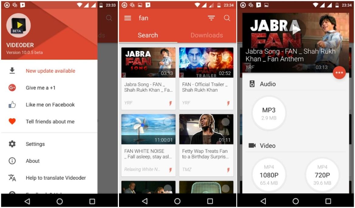 Cara Download Lagu dari YouTube menggunakan Videoder