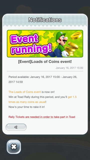 Super Mario Run Gets 'Loads of Coins' Limited Time Event
