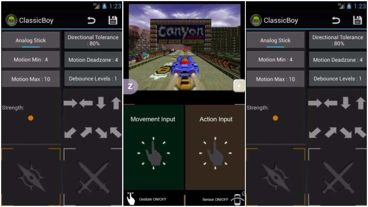 Android Emulator Ds