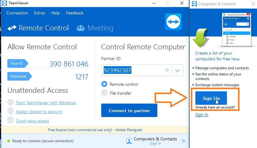 How To Use TeamViewer | Ubergizmo