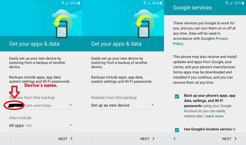 New Android Phone: 7 Ways To Transfer Data | Ubergizmo