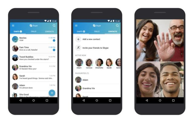 Skype For Android Bug Answers Calls Automatically   Ubergizmo