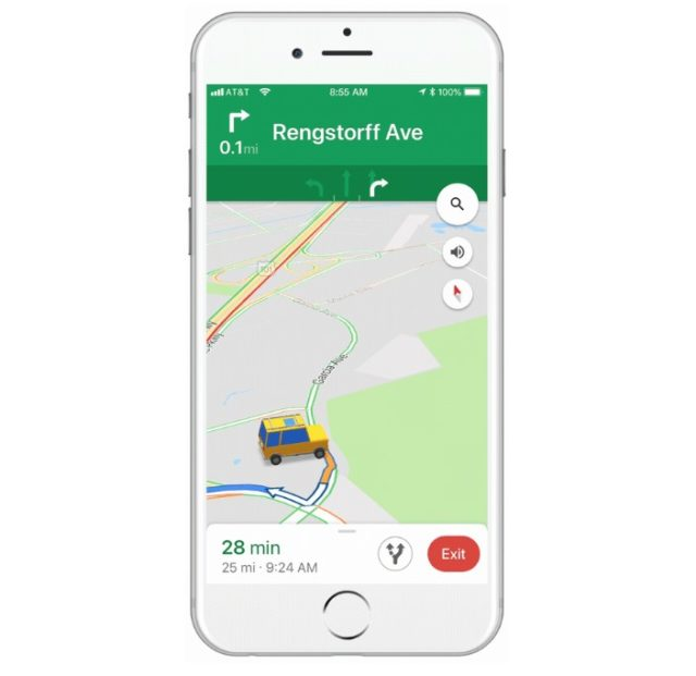 Google Maps For iOS Lets Users Choose From New Vehicle Icons