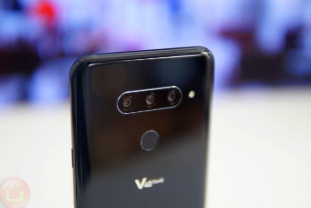 Aggiornamento LG V40 migliora la sua fotocamera