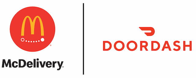 McDonald's Picks DoorDash As Its Second Delivery Partner