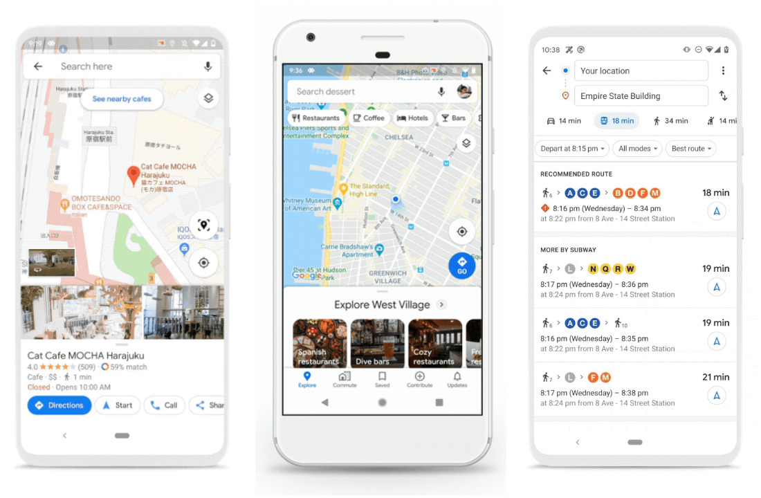 Google Maps To Add New Features A New Look For Iphone Android