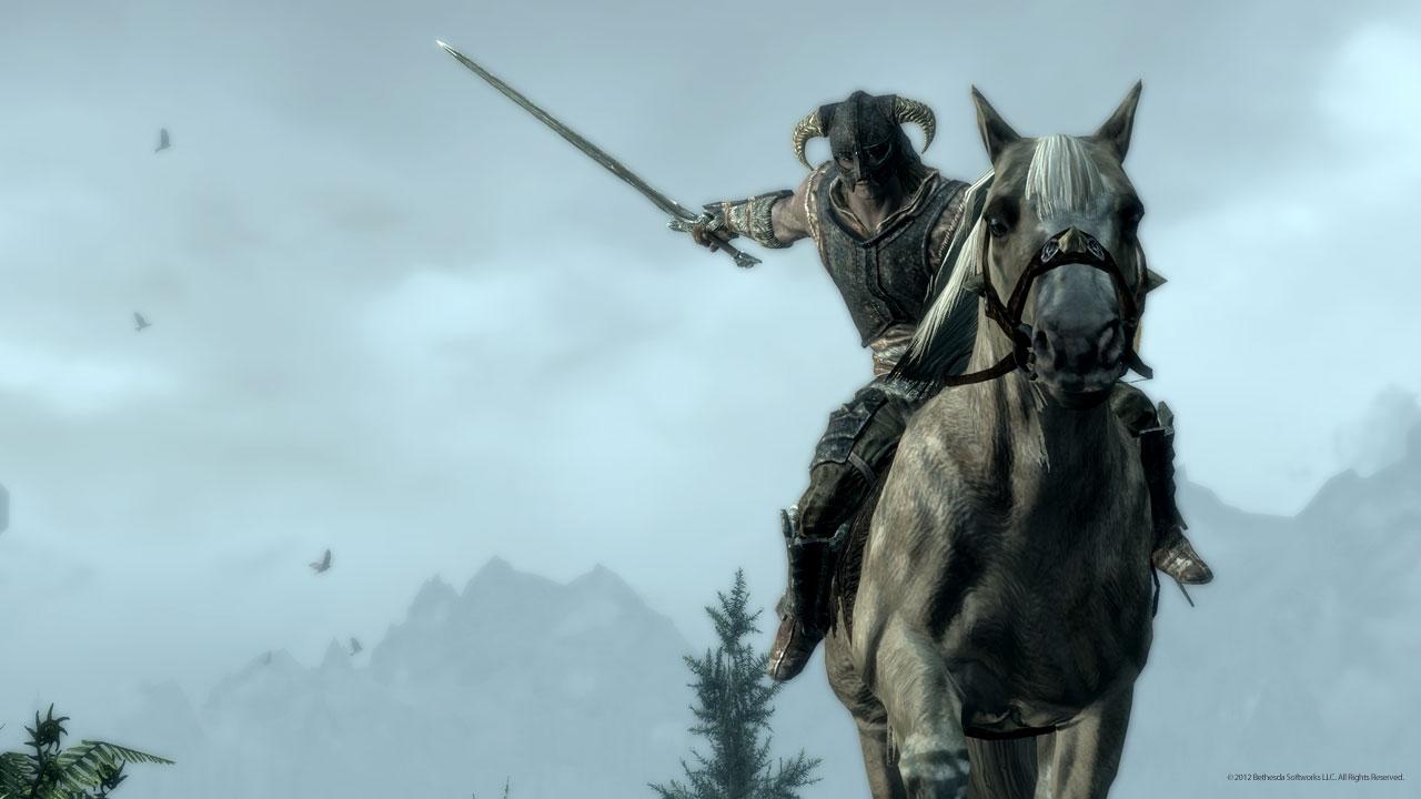 Skyrim Mounted Combat