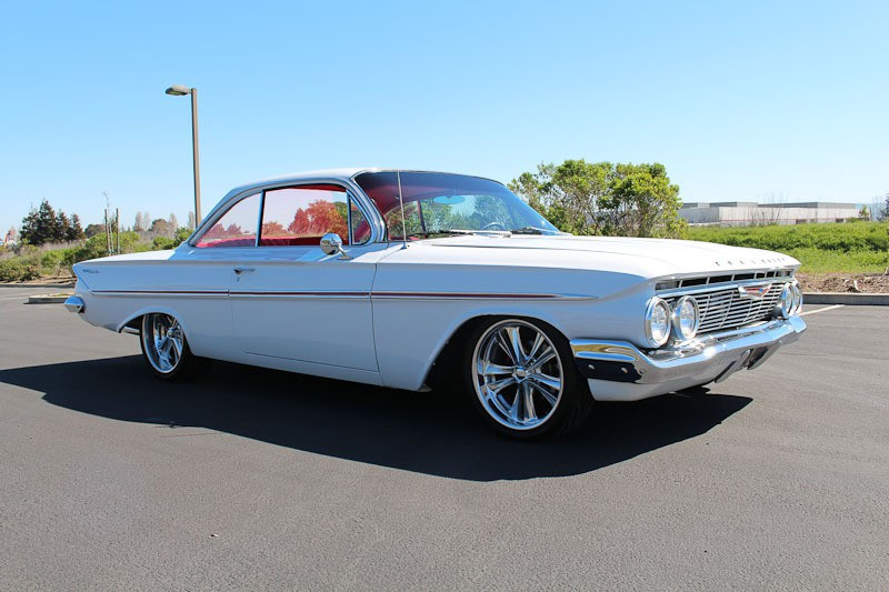 Chevrolet   Vehicles   Specialty Sales Classics     1961 Chevrolet Bel Air Sport Coupe 2 Door Bubbletop for sale