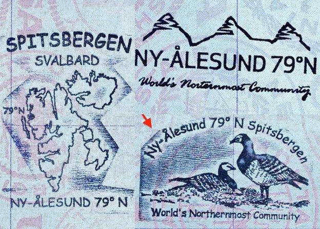 10 carimbos legais para o seu passaporte stamp cool Ny-Ålesund
