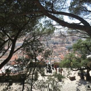 Vista da Igreja de S. Jorge