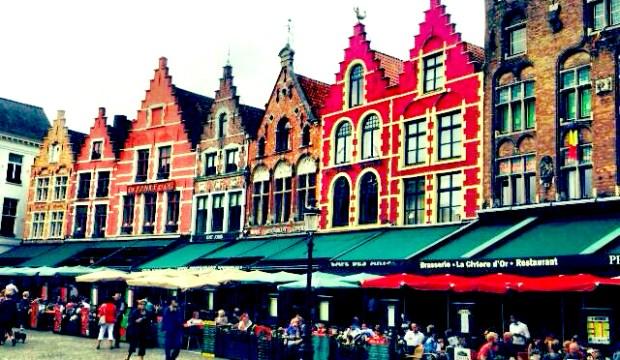 Melhor forma de ir de Amsterdam para Bruges