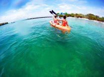 Praias em Cartagena: caiaque isla grande isla del rosário