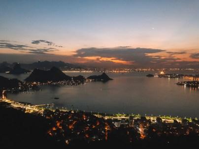 Pôr do Sol no Parque da Cidade, Niterói, RJ