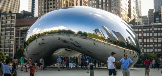 the bean, famoso ponto de Chicago