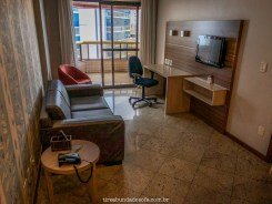 sala do hotel quality suites vila velha