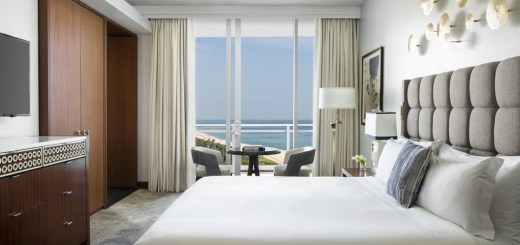 Quarto do The Ritz Carlton, hotel e resort de luxo em Key Biscayne, Miami