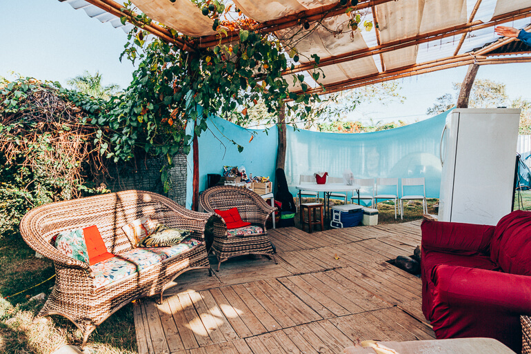 Área de Convivência do Camping Viveiro