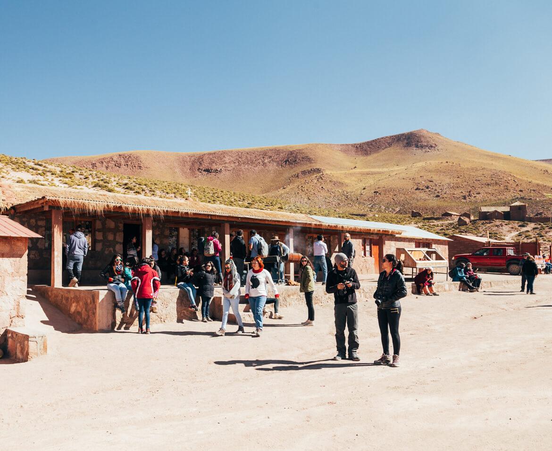 Geysers el Tatio - Povoado de Machuca