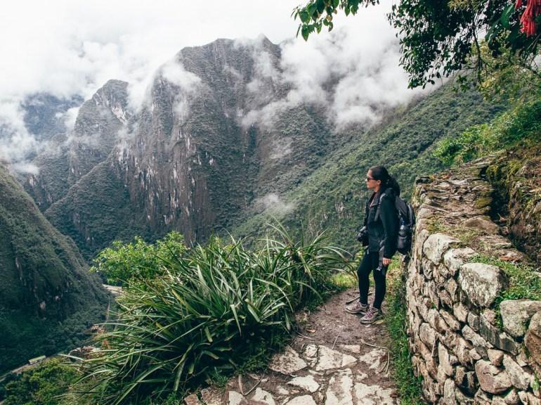 Um dos cantinhos de Machu Picchu.