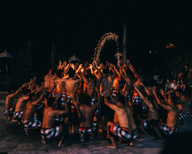 Kecak Dance, Uluwatu, Bali, Indonésia