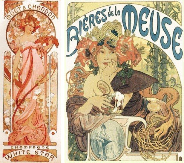Museu Mucha Praga - Publicidade Art Nouveau Alfons Mucha