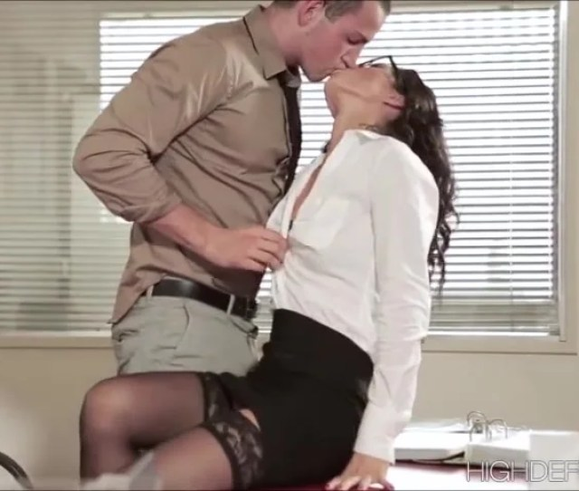 Geek Office Girl Alexas Wild And Semi Romantic Sex