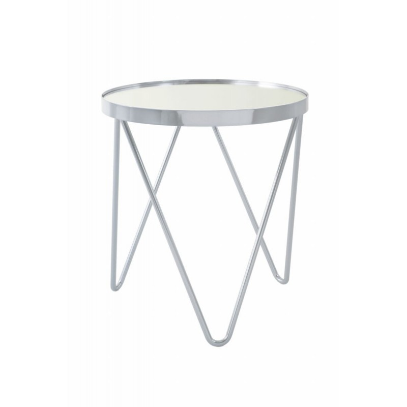 end table end table marilou in glass and metal silver low tables
