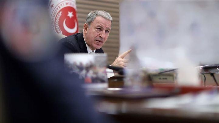 "Hulusi Akar: U operaciji ""Izvor mira"" neutralisano 342 terorista"