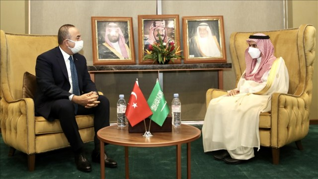 Turkish, Saudi foreign ministers hold 'sincere' meeting