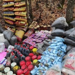 Security forces in eastern Turkey have seized explosives and booby-trap materials belonging to the PKK terror group